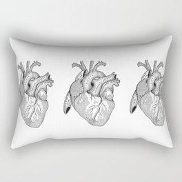 Study of the Heart Rectangular Pillow