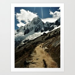 Santa Cruz Trek Art Print