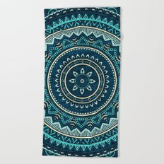 Hippie Mandala 16 Beach Towel