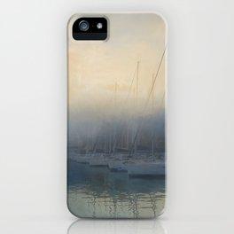 Misty Mooring iPhone Case