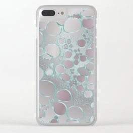 Abstract digital work 2 Clear iPhone Case