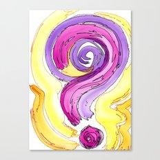 Flow Series #13 Canvas Print