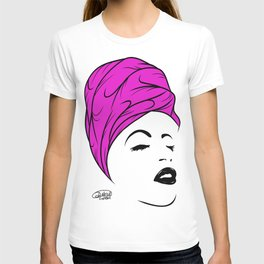 Lady Wrap (purple) T-shirt