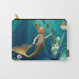 Cute Mermaid 2 Carry-All Pouch