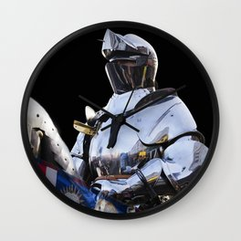 Knight and King Richards Standard Wall Clock