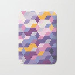 Violet Pattern Bath Mat
