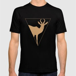 All lines lead to the...Inverted Springbok T-shirt