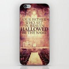 Hallowed be Thy Name iPhone & iPod Skin