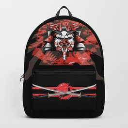Samurai Flag Backpack