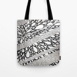 Linear Burst Tote Bag