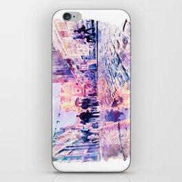 Dublin Watercolor Streetscape iPhone Skin