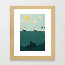 Average Framed Art Print