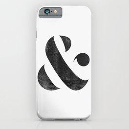 Ampersand V3 iPhone Case