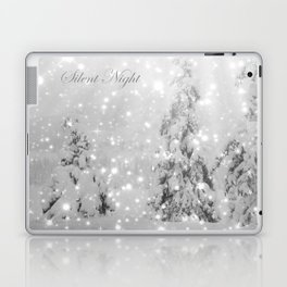 Silent Night - B & W Laptop & iPad Skin