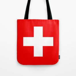 Flag of Switzerland - Authentic (High Quality Image) Tote Bag