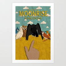 Moonrise Kingdom Minimalist Art Print