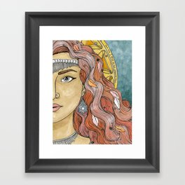 Esther Framed Art Print