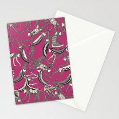 monkey pink Stationery Cards