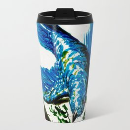 Mountain Bluebird Travel Mug