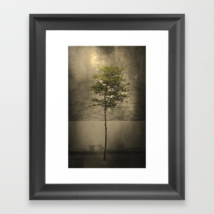 Once Upon a Tree Framed Art Print