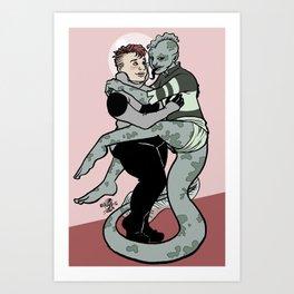 space cuties Art Print