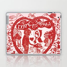 Love and Other Fairy Tales Laptop & iPad Skin