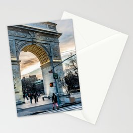 Washington Square Park, Greenwich Village NYC Stationery Cards