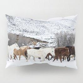 Carol Highsmith - Wild Horses Pillow Sham