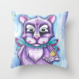 Loving bear Throw Pillow