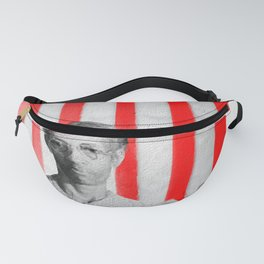 Red White Black And Blue Fanny Pack