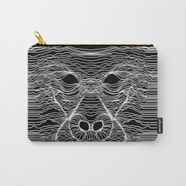 Gorilla Face Line Art Carry-All Pouch