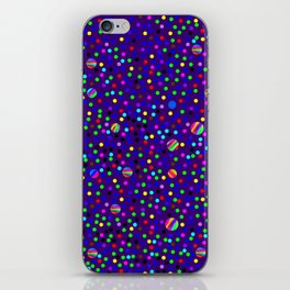 Colorful Rain 14 iPhone Skin