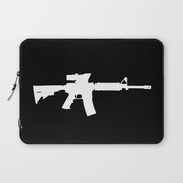 M4 Assault Rifle Laptop Sleeve