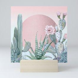 Desert Sunset by Nature Magick Mini Art Print