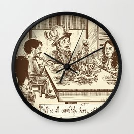 We're all cannibals here Wall Clock