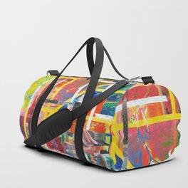 Geometry abstract Duffle Bag