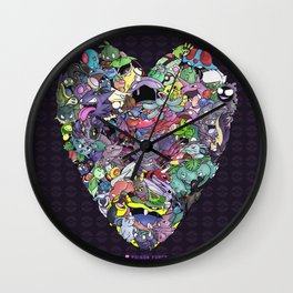Poison Force Wall Clock
