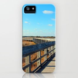 A Long Walk To The End iPhone Case