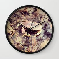 crab Wall Clocks featuring Crab by Ken Seligson