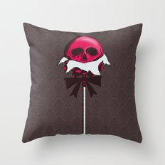 Sweet Death Throw Pillow