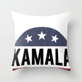 Kamala Harris  President 2020 - Kamala 2020 Throw Pillow