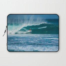 Surfing Hawaii Laptop Sleeve