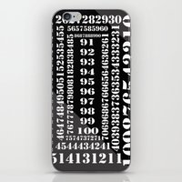numbers iPhone & iPod Skins featuring NUMBERS by Patrick D. Ottinger