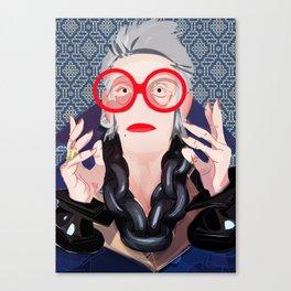 Iris: Blue Canvas Print