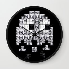 studded and tetrified Wall Clock