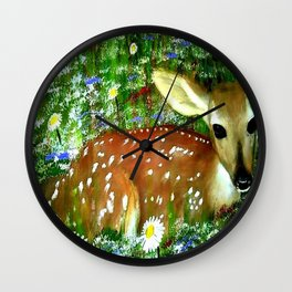 Nature's Baby Wall Clock