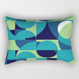 RainyDay Pattern Rectangular Pillow