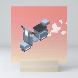 scoot scoot Mini Art Print