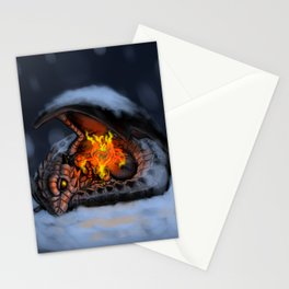 The Last Fireflower and the Little Dragon Stationery Cards