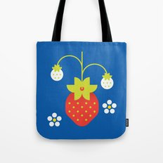 Fruit: Strawberry Tote Bag